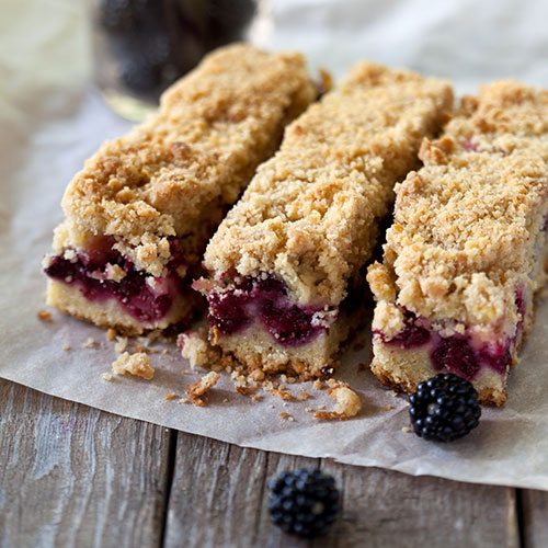 Brombeer Bars
